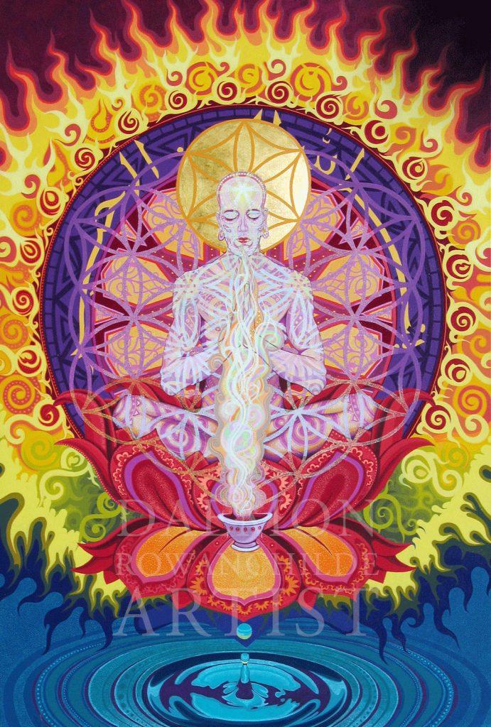 <p>Burning Samsara (SOLD)</p>