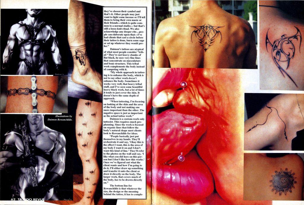 <p>Tattoo Revue No. 41<br /> Article Page 2</p>