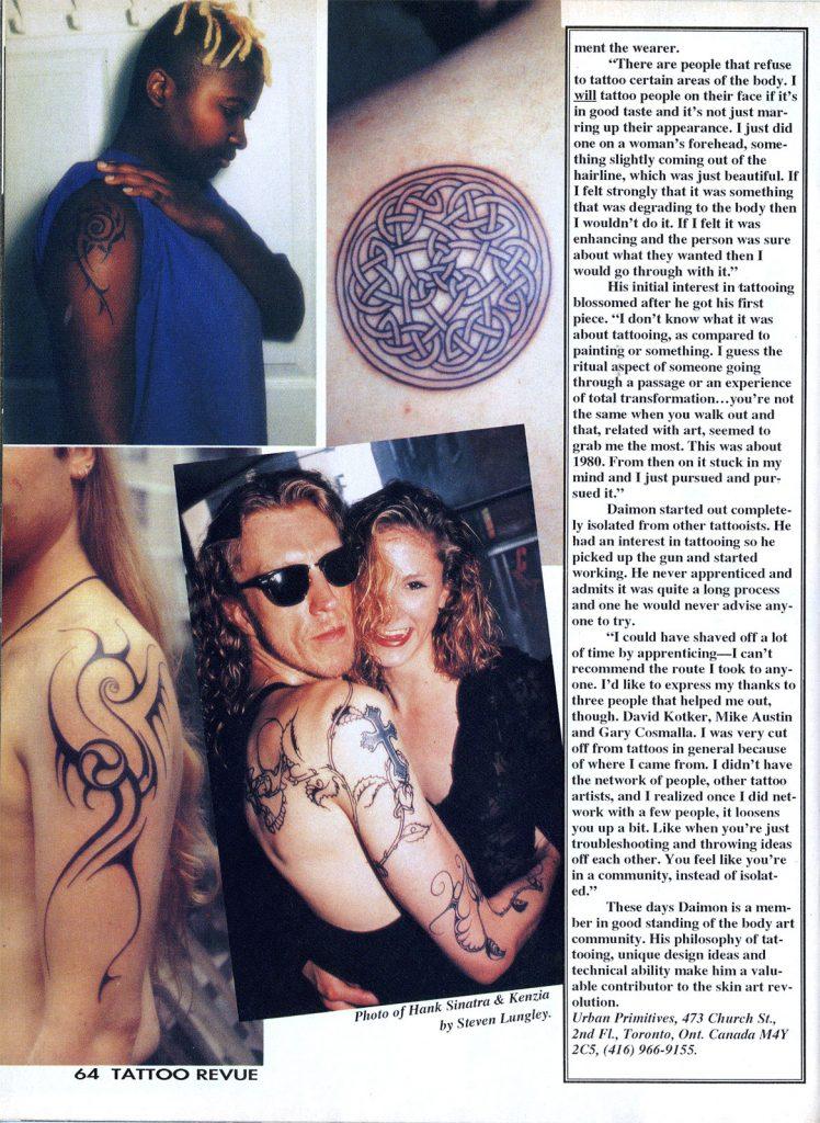 <p>Tattoo Revue No. 41<br /> Article Page 3</p>