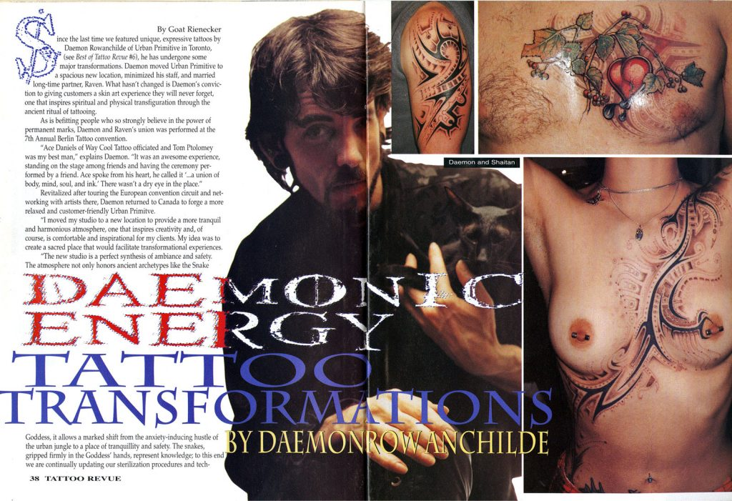 <p>Tattoo Revue No. 66<br /> Article Page 1</p>