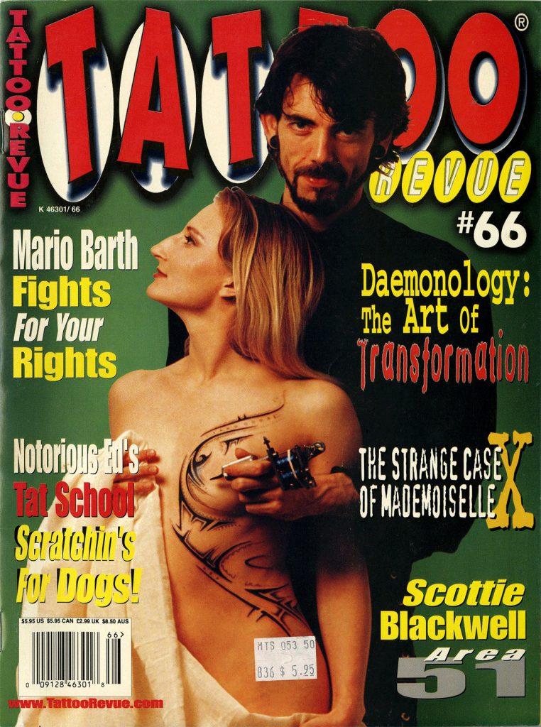 <p>Tattoo Revue No. 66<br /> Cover</p>